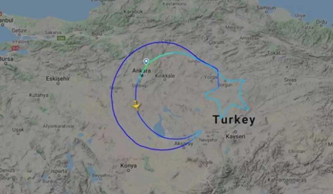 Türk Hava Yolları'nın, Ay Yıldız Çizdiği Uçuş Hikayesi Yayınlandı