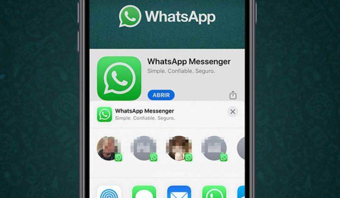 WhatsApp'tan iOS Uygulamasına Kullanışlı Paylaşım Özelliği
