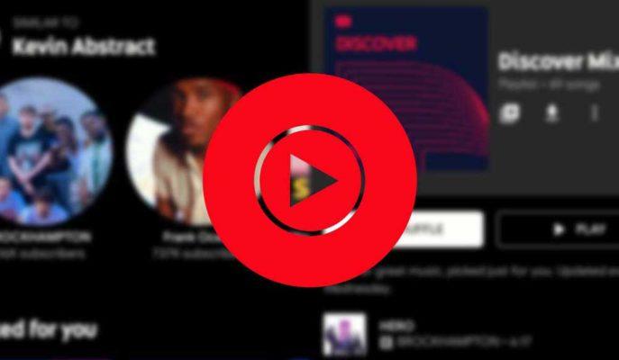 YouTube Music'in Kütüphane Arayüzü Yenileniyor