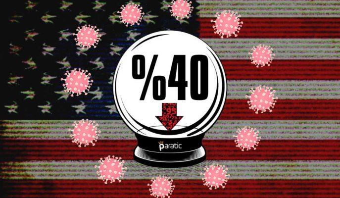 ABD Ekonomisi 2. Çeyrekte Tüketici Etkisiyle %40 Daralabilir