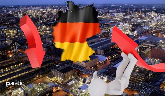 Almanya Sanayi Üretiminde 1991'den Bu Yana En Sert Düşüş Yaşandı