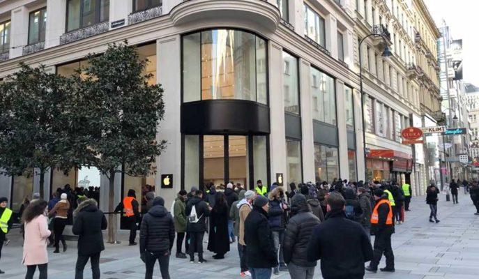 Apple Salgın Sonrası Avrupa'daki İlk Mağazasını Açıyor
