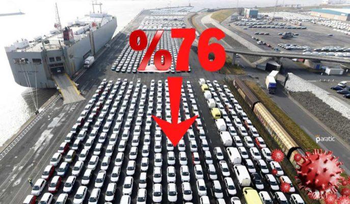 Avrupa Yeni Otomobil Kayıtları Azalan Satışlarla Nisan'da %76 Düştü