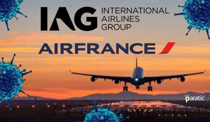 Avrupalı Havayolu Şirketleri Pandemi Belirsizliğinden Kötü Etkileniyor