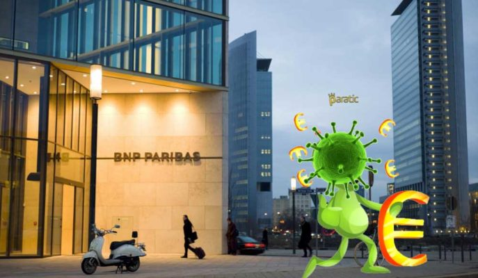 BNP Paribas'ın 2020 İlk Çeyrek Net Geliri %33 Düştü