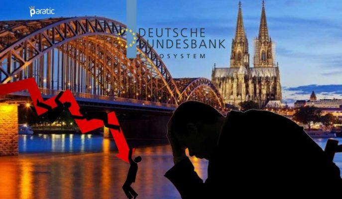 Bundesbank, Alman Ekonomisi için 2Ç20'de Karamsar Bir Daralma Öngörüyor