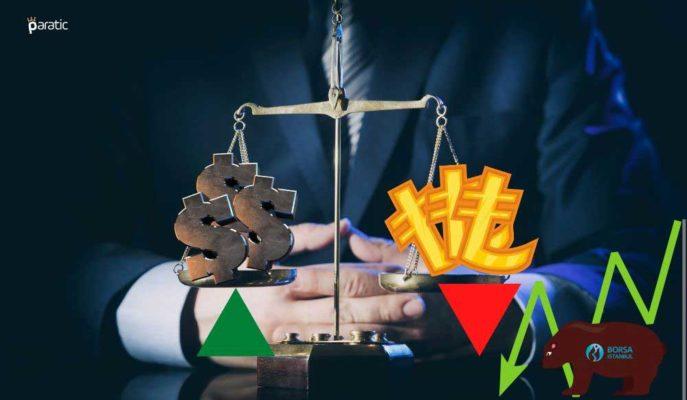 Büyüme Rakamlarının Ardından Dolar Yükseliş, Borsa Düşüş Gösteriyor