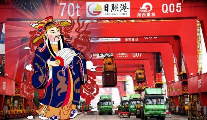 Çin'in İhracatı, Büyük Düşüş Beklentilerine Rağmen Nisan'da Arttı