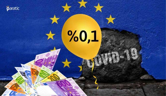 Euro Bölgesi Yıllık Enflasyonu Mayıs'ta Gıda Fiyatlarına Rağmen %0,1 Arttı