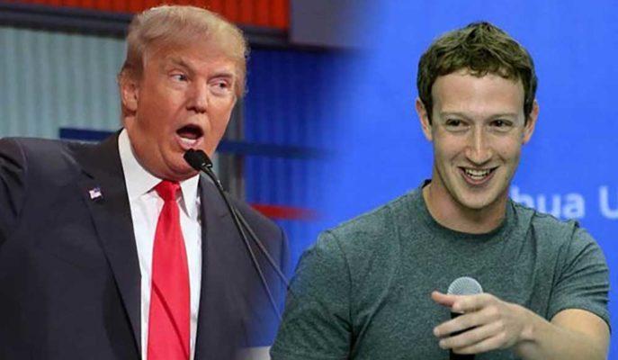 Facebook CEO'su Zuckerberg Cephesinden Trump'a Şaşırtan Destek Geldi