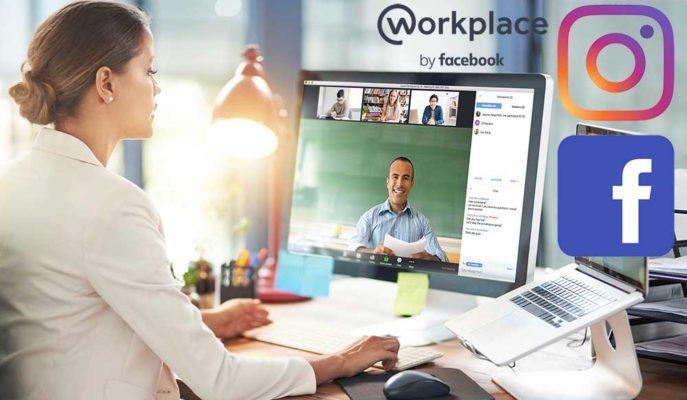 Facebook Workplace ve Instagram Uygulamaları Video Konferans Özelliğine Kavuştu