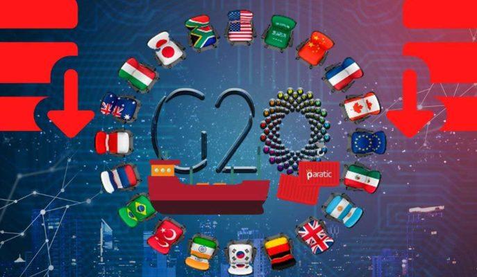 G-20 Ülkelerinin Uluslararası Ticareti Pandemi Etkisiyle Azaldı