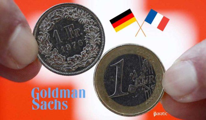 Goldman Sachs Euro'daki Güvenli Liman Pozisyonunu Sonlandırdı
