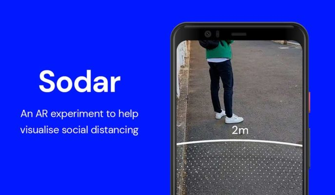 Google COVID-19'un Bulaşmasını Engelleyecek Sosyal Mesafe Uygulaması Geliştirdi
