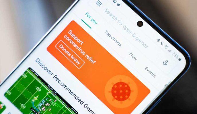 Google, Play Store'da COVID-19 ile İlişkili Uygulamalara Olan Hassasiyetini Artırdı
