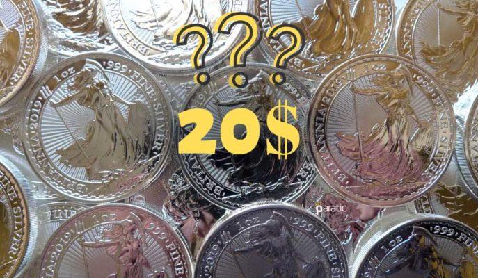 Gümüş Fiyatlarının 12 Ayda 20 Dolara Yükselmesi Bekleniyor