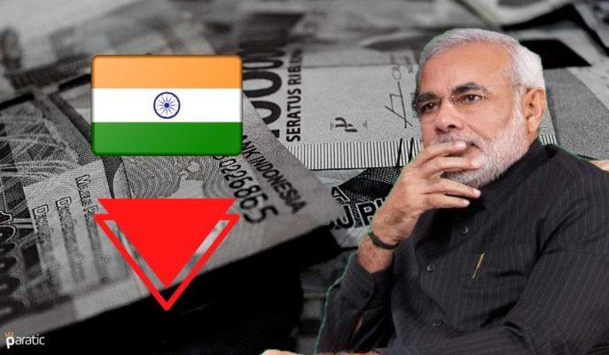 Hindistan GSYİH Büyümesi 2020-21 Döneminde Negatif Bölgede Kalacak
