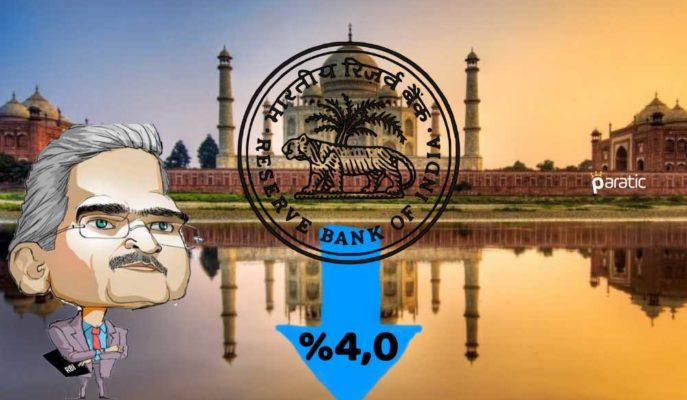Hindistan MB, Gösterge Faizini Beklenmedik Şekilde 40 Baz Puan Düşürdü