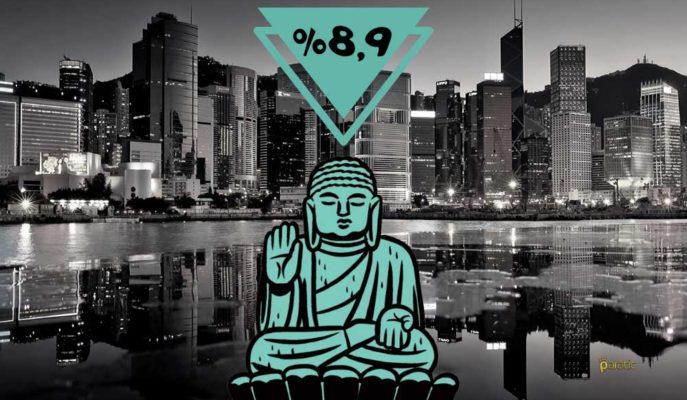 Hong Kong Ekonomisi İlk Çeyrekte %8,9'luk Rekor Daralma Kaydetti