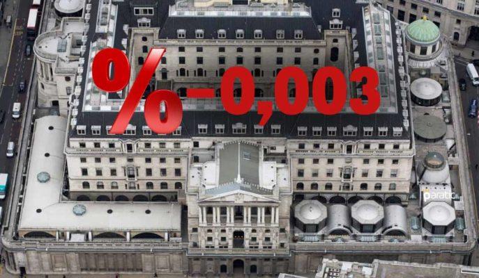 İngiltere İlk Kez Negatif Getirili Devlet Tahvili Sattı