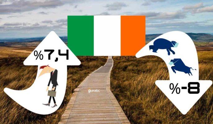 İrlanda Ekonomisi 2020'de %8 Daralırken İşsizlik %7,4'e Çıkacak