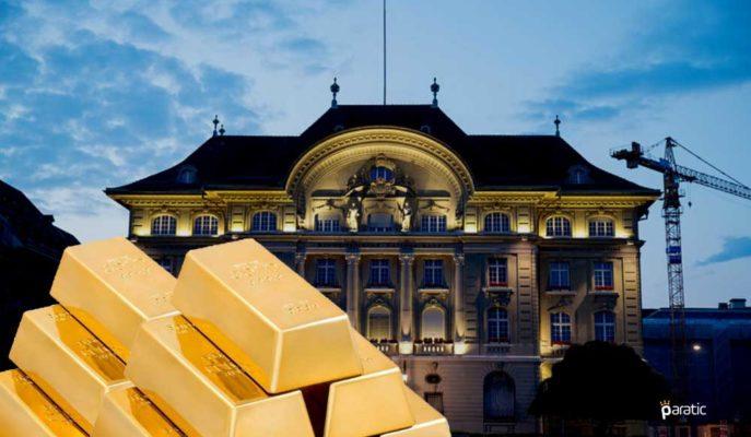 İsviçre Merkez Bankası Başkanı Altın Rezervlerinden Memnun