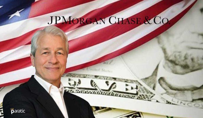 JP Morgan/Dimon ABD Ekonomisinin Üçüncü Çeyrekte İyileşeceğinden Ümitli