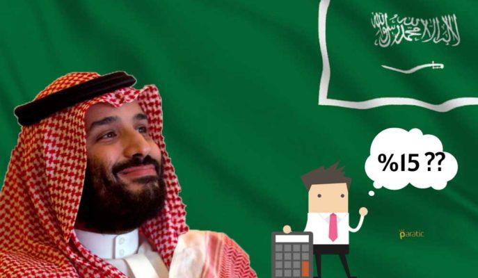 Kemer Sıkan Suudi Arabistan KDV'yi 3 Katına Çıkaracak