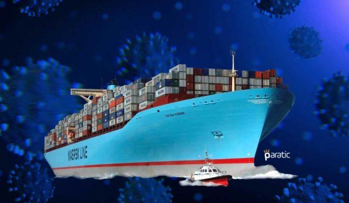 Maersk Filosunun Yaklaşık %10'u Koronavirüs Nedeniyle Boşta