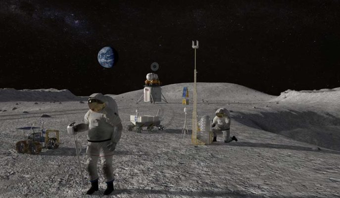 NASA, Artemis Projesi Kapsamında Ay'a İnsanlı Yolculuk için Yeni İş Birlikleri Yaptı