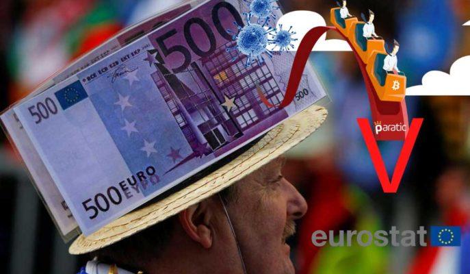 Nisan'da Yıllık Enflasyon Euro Bölgesi'nde %0,3'e, AB'de %0,7'ye Geriledi