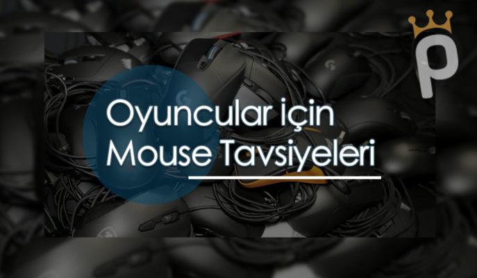 Oyuncular için En İyi 10 Gaming Mouse Önerisi