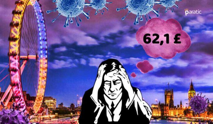 Pandeminin İngiltere'ye Maliyeti 27 Yılın En Yüksek Bütçe Açığı Oldu