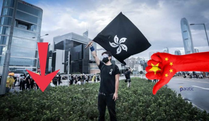 Pekin'in Güvenlik Yasası Planı, Hong Kong Borsasını Aşağı Çekti