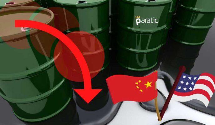 Petrol ABD-Çin Arasındaki Gerilimle 3 Günlük Yükselişini Sonlandırdı