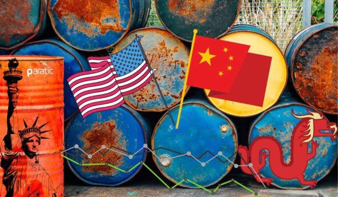 Toparlanmaya Başlayan Petrole Bu Kez ABD-Çin Gerilimi Darbe Vuruyor