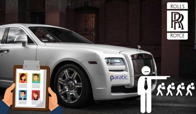 Rolls-Royce Pandemi Etkisiyle Personel Sayısını 9 Bin Azaltıyor