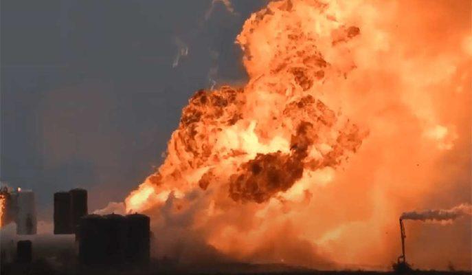 SpaceX'in Starship Patlamalarına Bir Yenisi Daha Eklendi