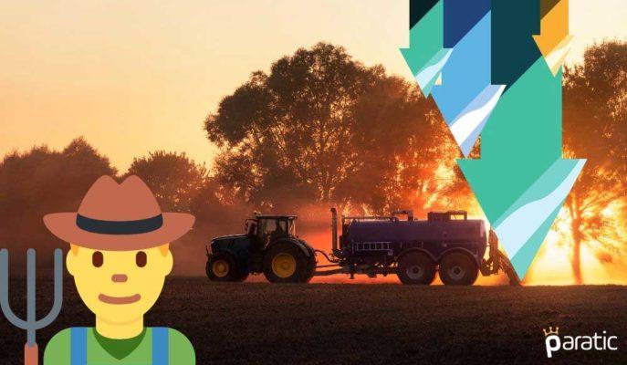 Tarım-ÜFE Salgın Etkisiyle Nisan'da Son 2 Yılın En Düşüğüne Geriledi