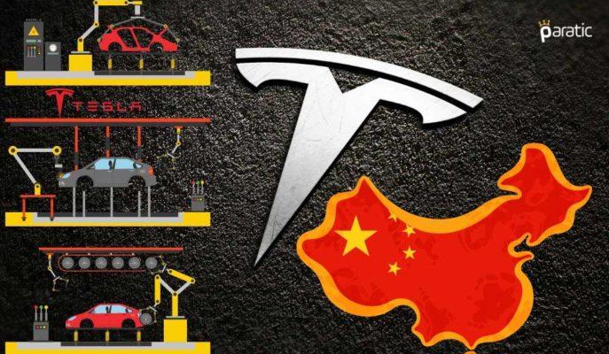 Tesla Hayatın Normalleşmeye Başlamasıyla Çin'de Üretimini Artırıyor