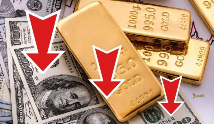 Yatırımcılar Yoğun Veri Akışına Odaklanırken Altın Düşüşe Geçti