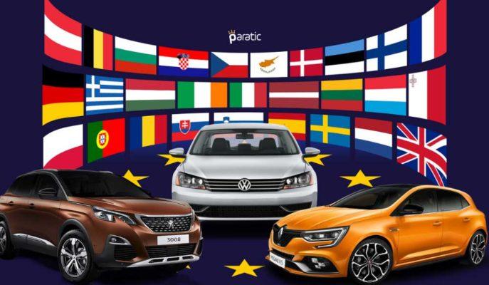 AB Otomobil Satışları Mayıs 2020'de %50'den Fazla Düştü