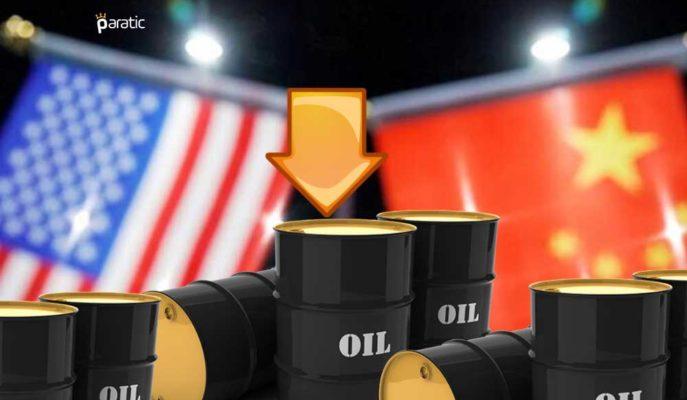 ABD-Çin Gerginliği Petrolde Talep Şokunu Anımsatırken Fiyatlar Hafif Geriledi
