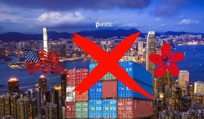 ABD Çin'in Güvenlik Yasası Gereği Hong Kong'a Savunma İhracatını Durduruyor