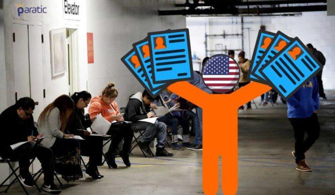 ABD'de 1 Milyon 480 Bin Kişi Daha İşsizlik Maaşı Başvurusunda Bulundu