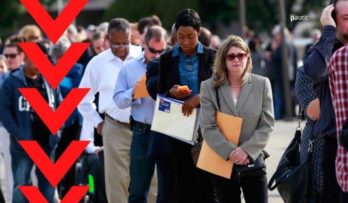ABD İşsizlik Maaşı Başvuruları Son Verilere Göre 58 Bin Geriledi