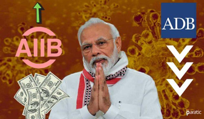 ADB'nin GSYİH Tahmini Düşürdüğü Hindistan, AIIB ile Anlaşma İmzaladı