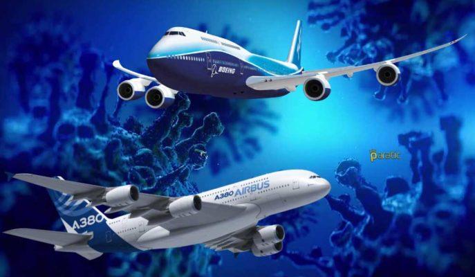 Airbus ve Boeing Hisseleri, Sıfırı Gören Siparişlere Rağmen Yükseliyor