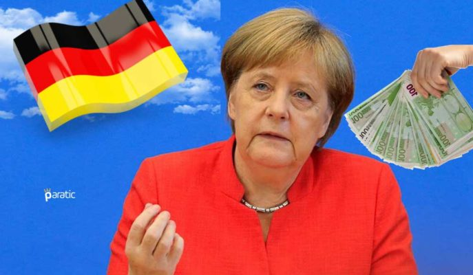 Almanya Pandemi Teşvikleri için 2020'de 218 Milyar Euro Borçlanmayı Göze Aldı