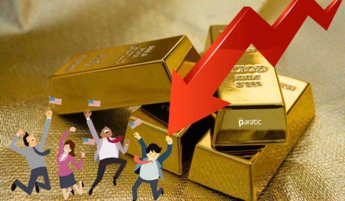 Altın Fiyatları ABD Tarım Dışı İstihdamıyla Adeta Çakıldı